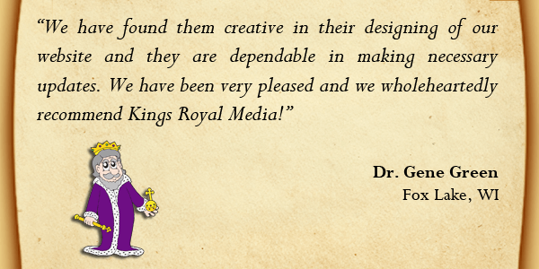 Kings Royal Media Testimonial
