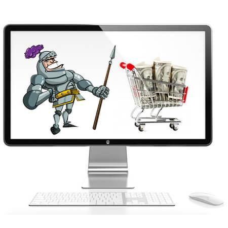 Knight Shopping Cart