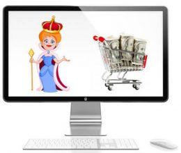 Queen ShoppingCart