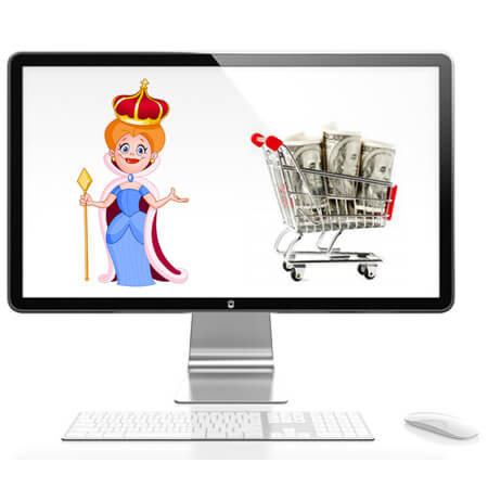 Queen ShoppingCart